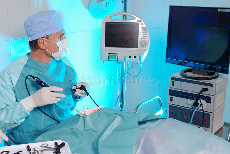 Cirujano fotografía de archivo