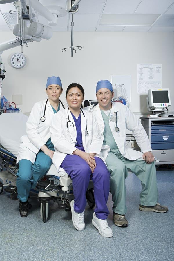 cirurgiões fotografia de stock