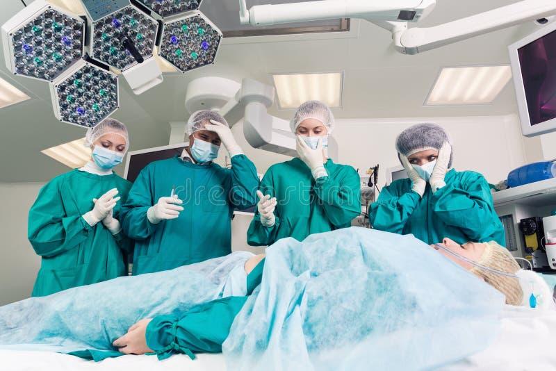 Cirurgia foto de stock