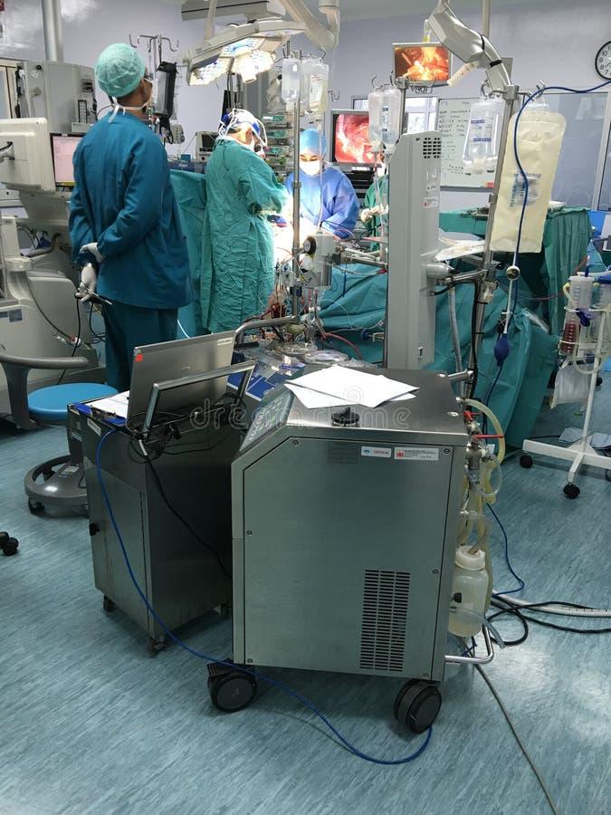 Cirurgia cardíaca imagens de stock royalty free