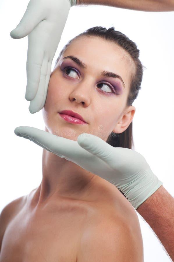 Cirurgia plástica imagens de stock
