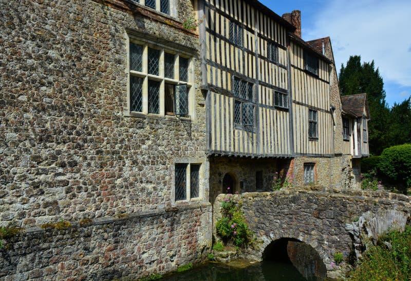 Cisco de Igtham Casa de solar medieval kent Reino Unido fotografia de stock
