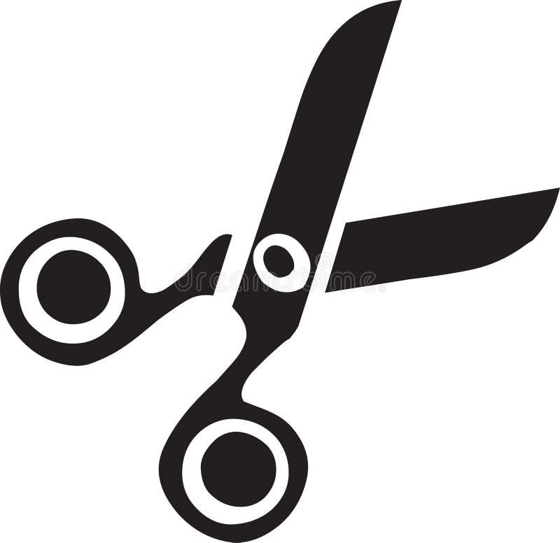 Ciseaux illustration de vecteur
