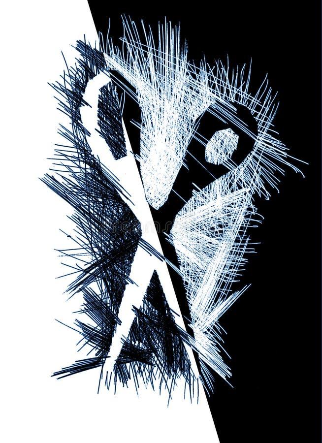 Ciseaux illustration stock