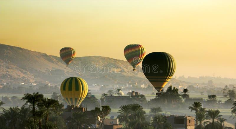 Cisjordânia de Luxor acima foto de stock