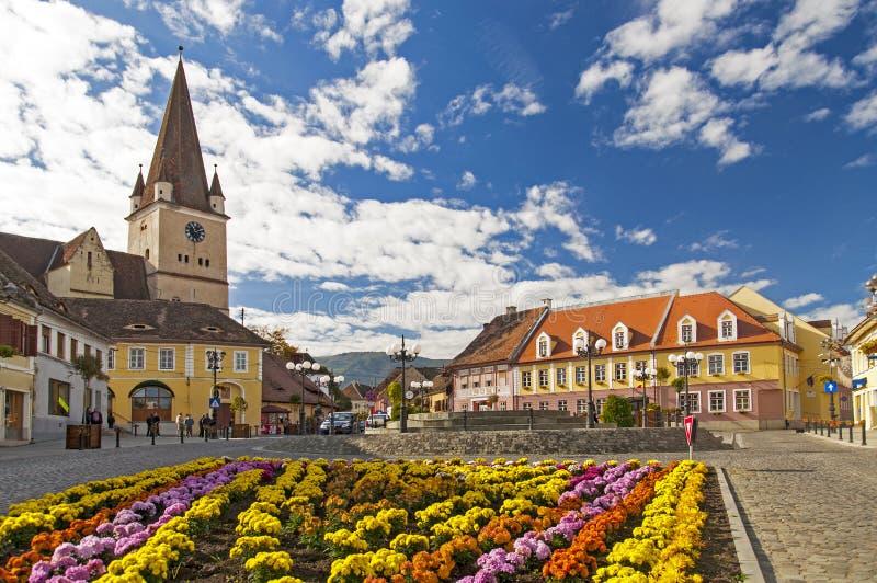 Cisnadie, Romania royalty free stock photos