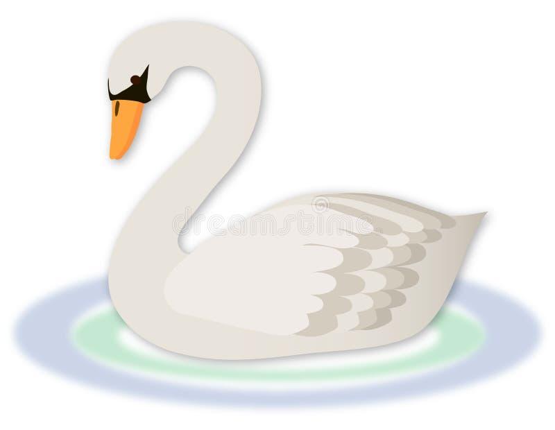 Cisne ilustração do vetor
