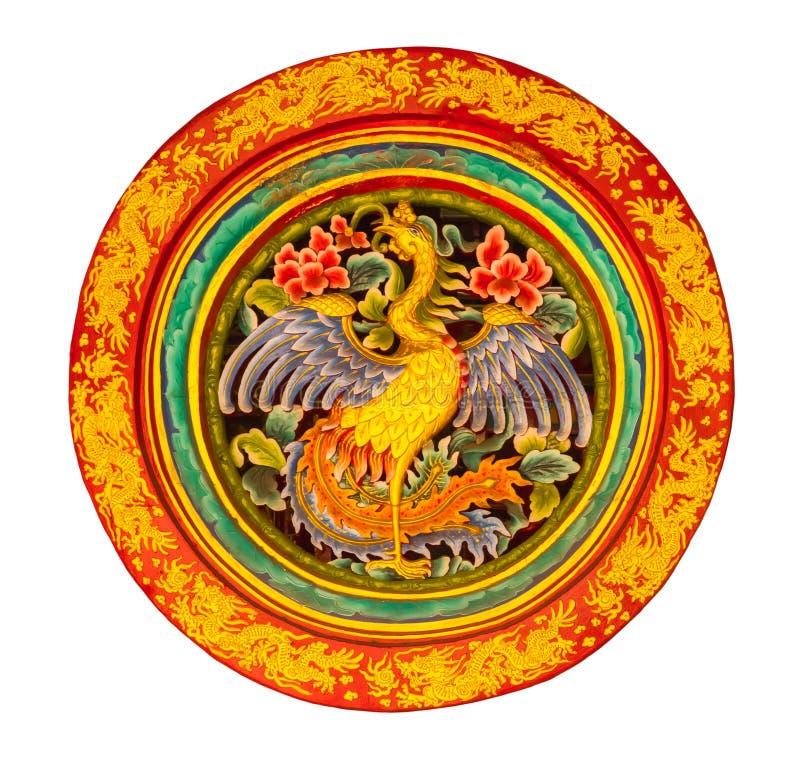 Cisne en rueda del dragón imágenes de archivo libres de regalías