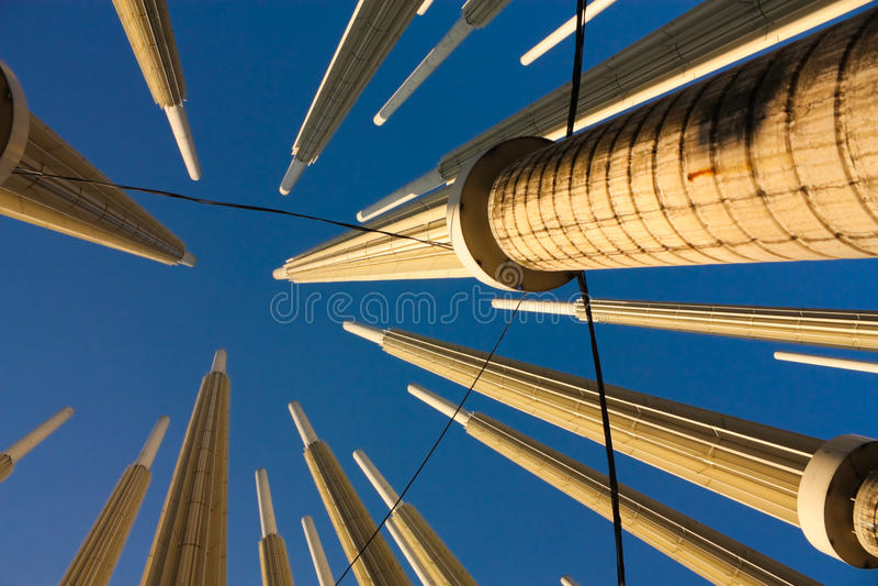 cisneros colombia ljus medellin fyrkant arkivbilder