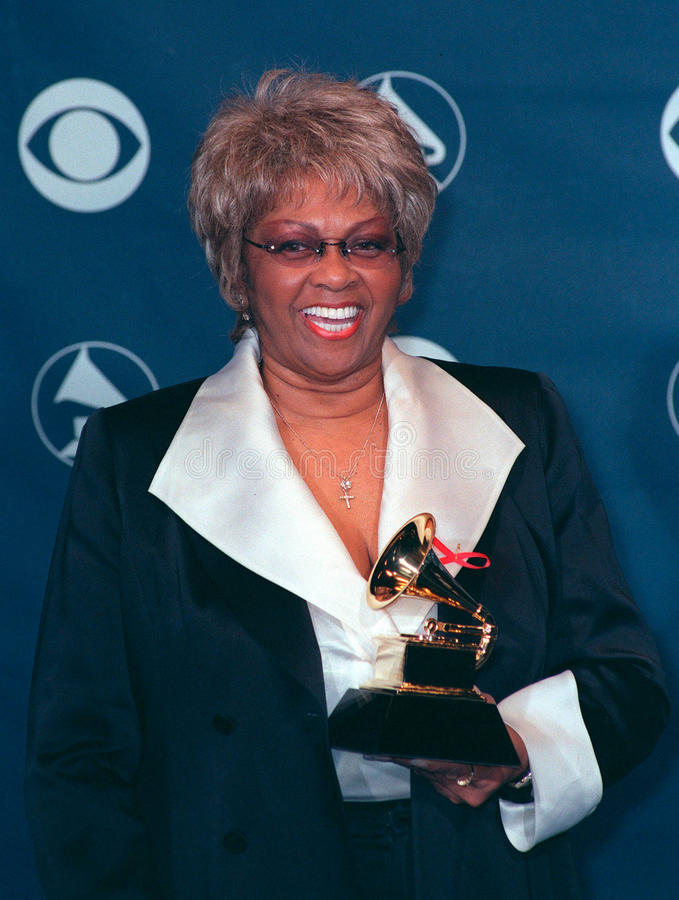 Cissy Houston. 24FEB99: Singer CISSY HOUSTON (mother of Whitney Houston) at the 41st Annual Grammy Awards in Los Angeles. Paul Smith / Featureflash stock photography