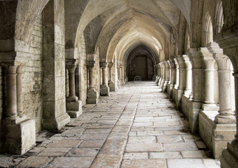 Cisterciënzer klooster royalty-vrije stock fotografie