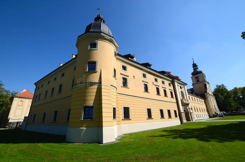 Cistercian修道院在鲁迪 免版税库存照片