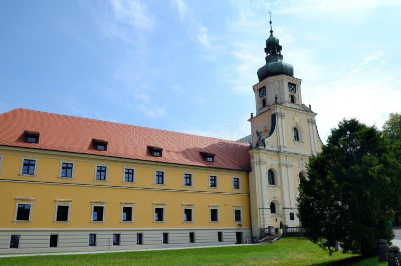 Cistercian修道院在鲁迪 免版税图库摄影