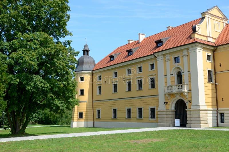 Cistercian修道院在鲁迪 图库摄影