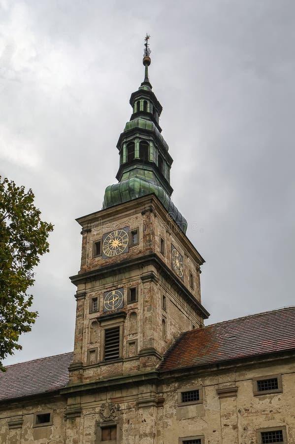 Cistercian kloster, Plasy, Tjeckien royaltyfria bilder
