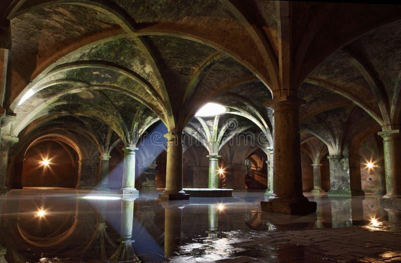 Cistern för El Jadida, Marocko arkivfoton