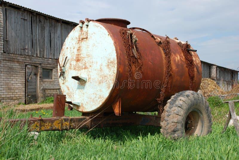 Cisterna da água imagem de stock