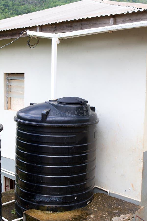 Cisterna da água fotografia de stock