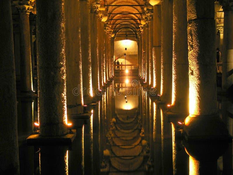Cisterna da basílica imagens de stock