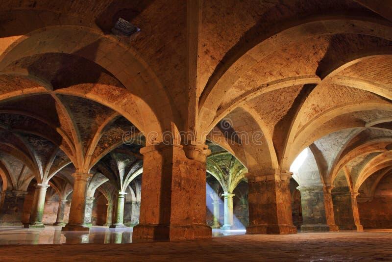 Cisterna do EL Jadida, Marrocos foto de stock