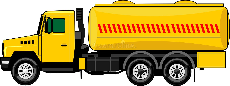 Cisterna mobile illustrazione di stock