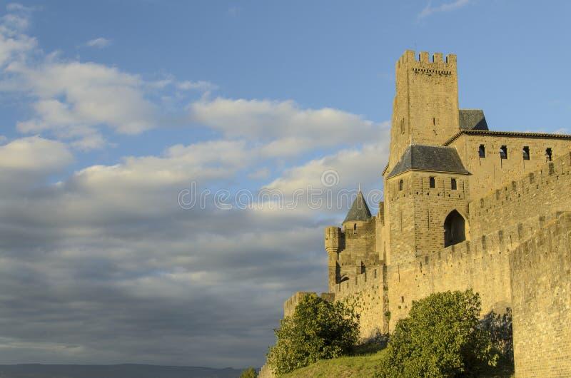 Cité DE Carcassonne royalty-vrije stock afbeeldingen