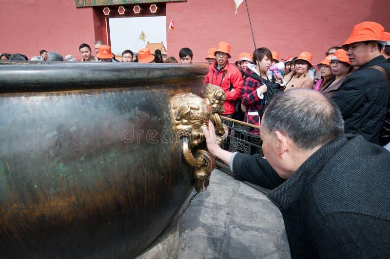 Cité interdite dans Pékin image stock