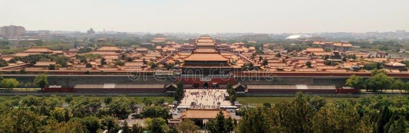 Cité interdite, porte du nord - Pékin, Chine photos libres de droits