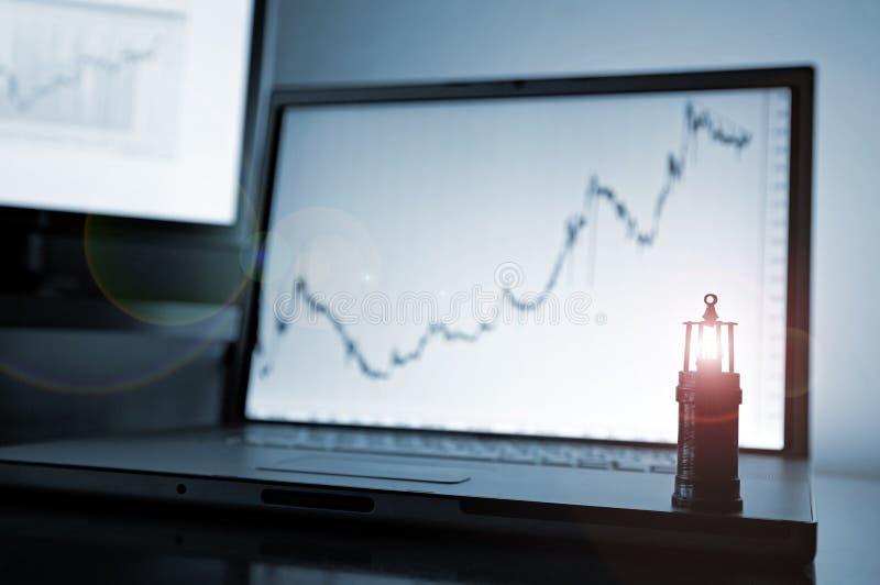 Citações do mercado imagem de stock
