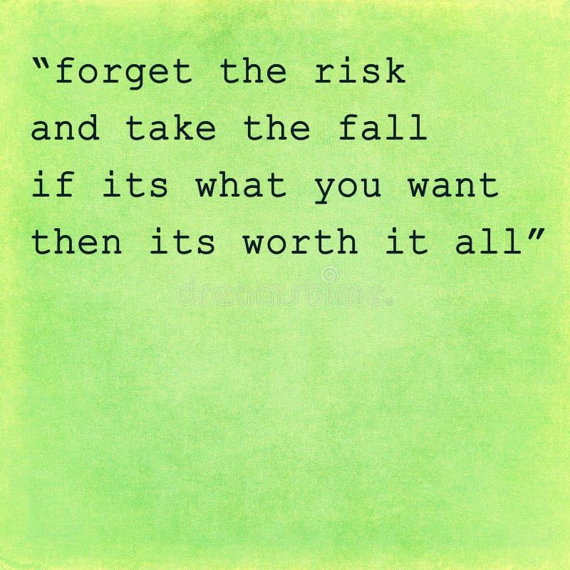 Citações inspiradas da motivação no fundo velho foto de stock royalty free