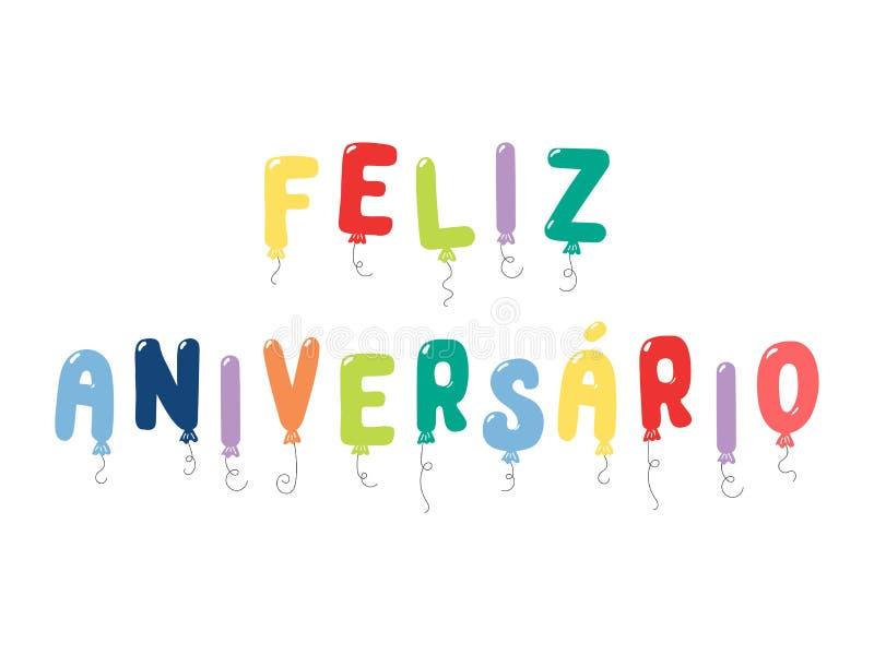 Feliz Cumpleanos En Portuguese: Tarjeta De Feliz Aniversario Portuguese Happy Birthday