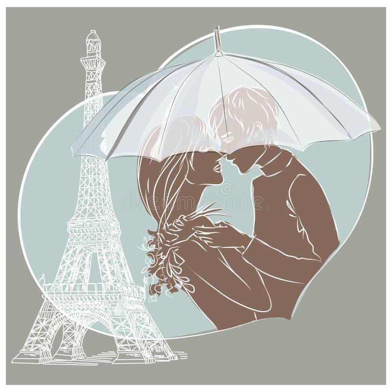 Cita en París libre illustration