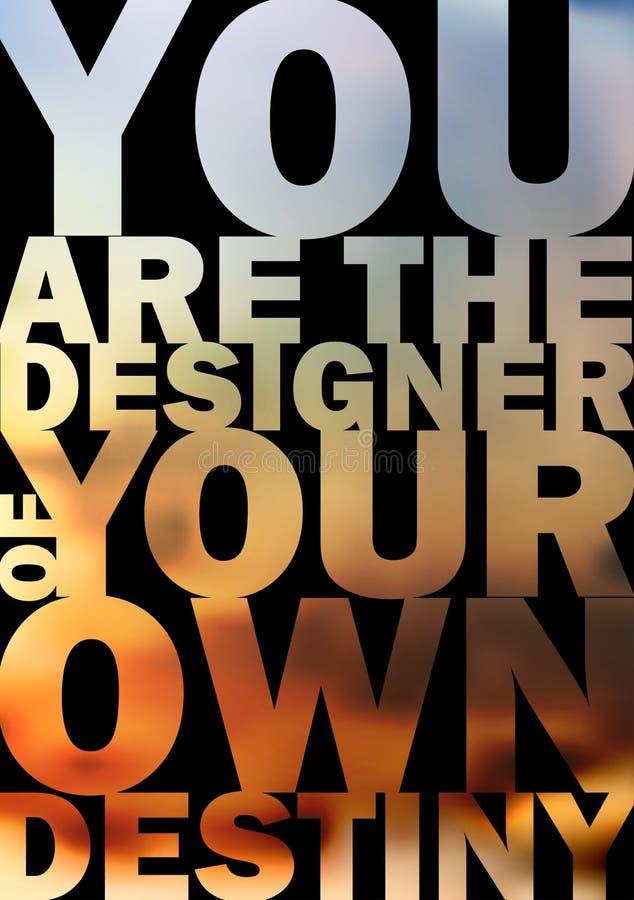 Citaat Typografische Achtergrond, vectorontwerp. stock illustratie