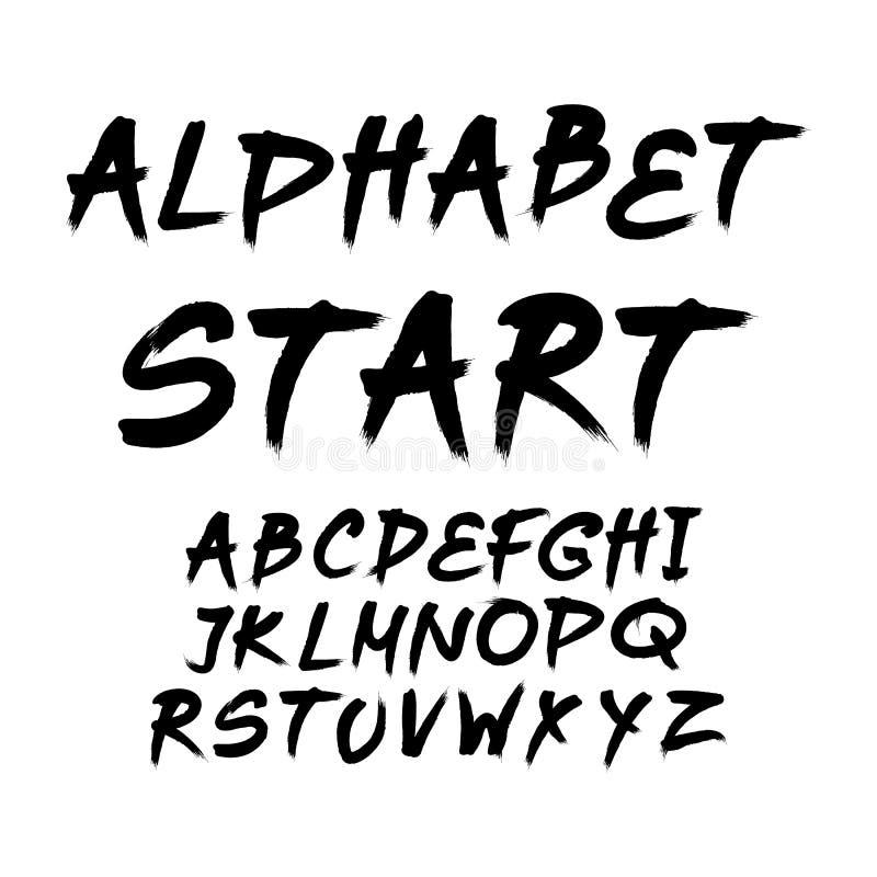 Citaat Typografische Achtergrond, vectorontwerp stock illustratie