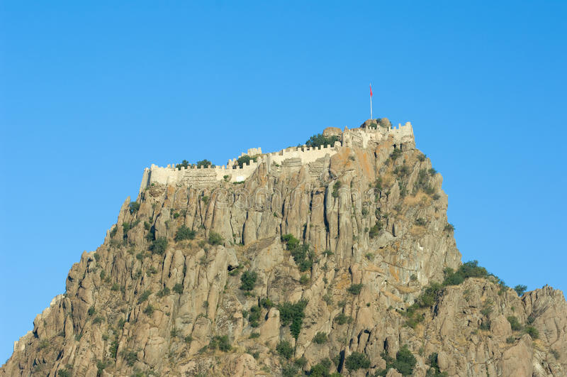 Citadel Of Afyon, Turkey royalty free stock photo