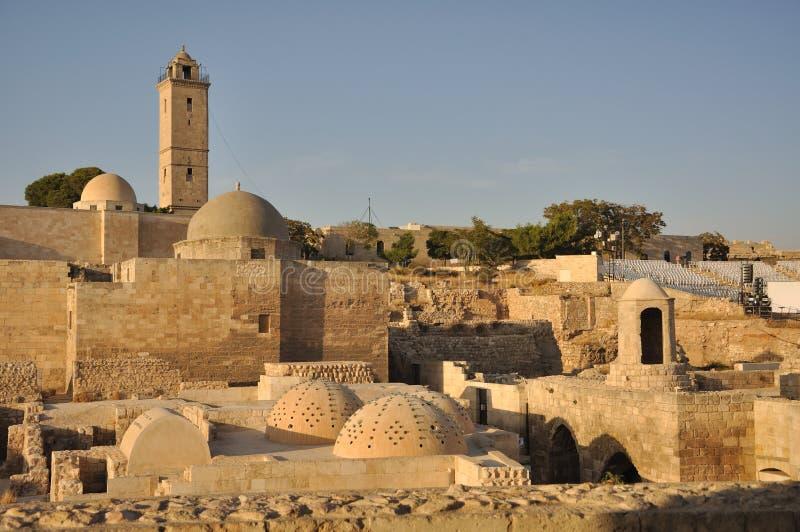 Citadel of Aleppo royalty free stock photos