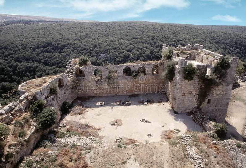 Citadel av Salah Ed-Buller arkivfoto