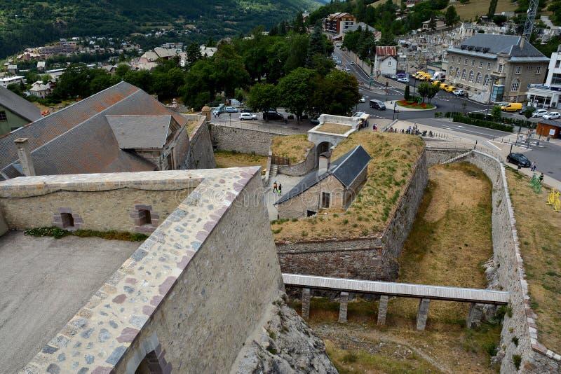 Citadel of Briancon, France. Citadel of Briancon, Hautes Alpes, France royalty free stock photo