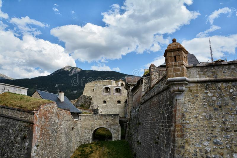 Citadel of Briancon, France. Citadel of Briancon, Hautes Alpes, France royalty free stock images