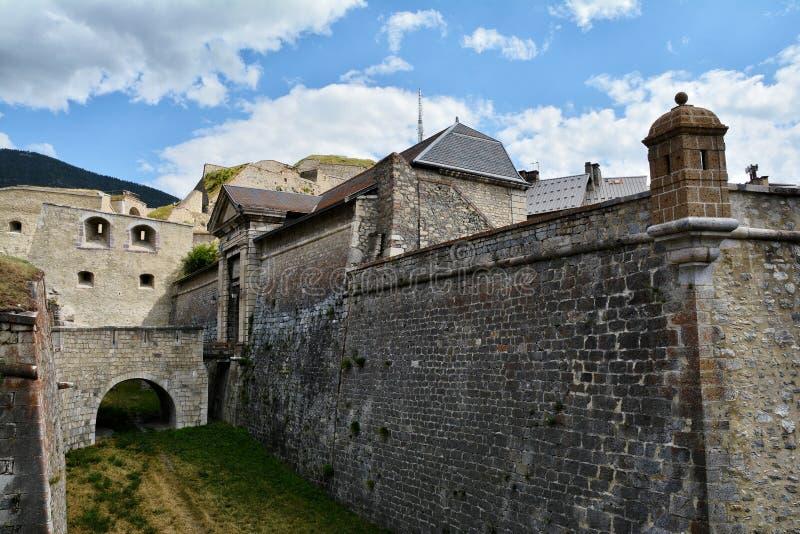 Citadel of Briancon, France. Citadel of Briancon, Hautes Alpes, France stock photo