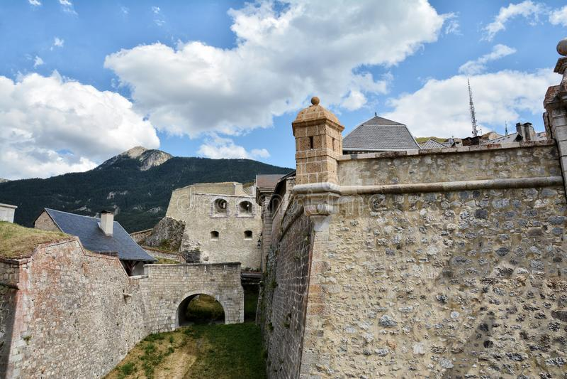 Citadel of Briancon, France. Citadel of Briancon, Hautes Alpes, France royalty free stock image