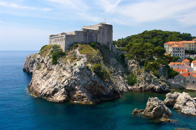 Citadel in Dubrovnik royalty-vrije stock foto's