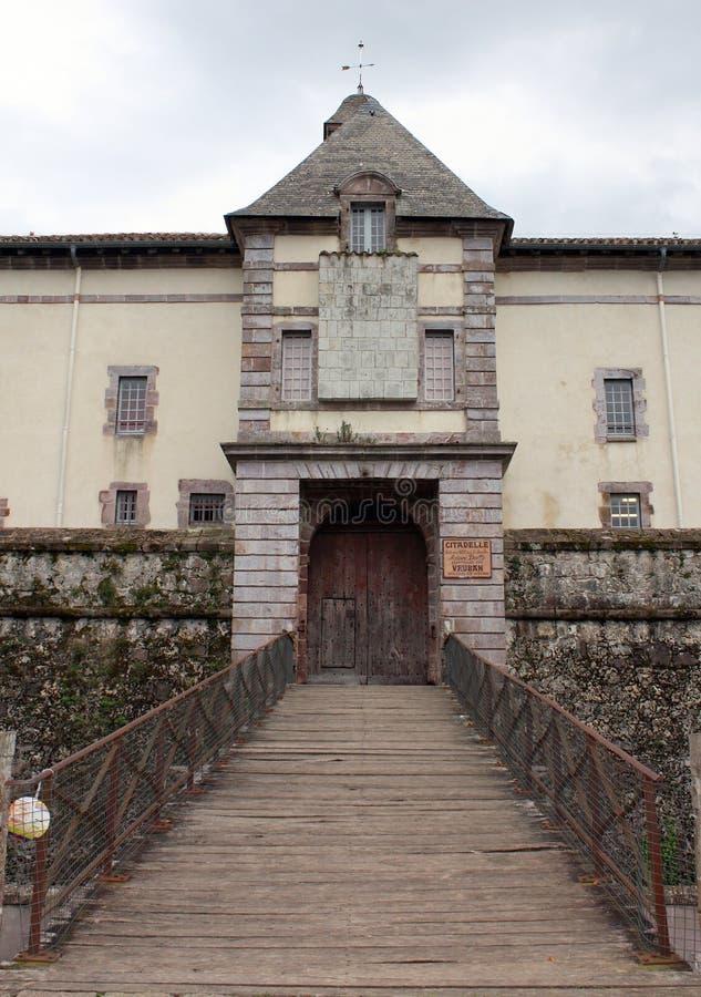 citadel france royaltyfria bilder