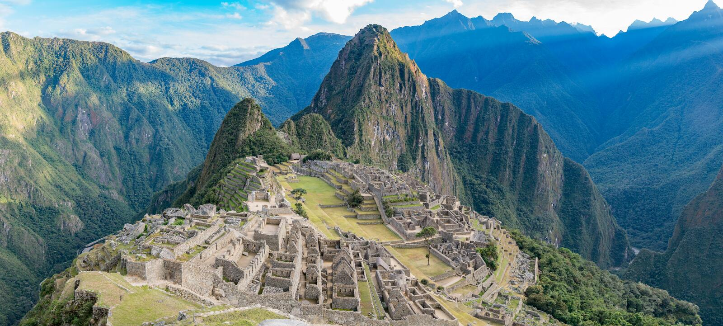 Citadel of Machu Picchu royalty free stock image