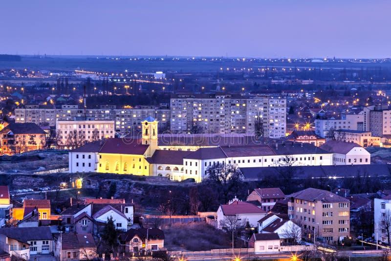 The citadel of Oradea, Romania stock images