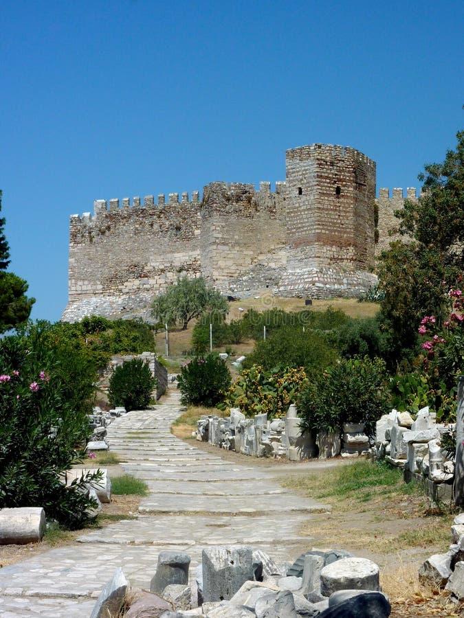 Citadel på basilicaen för St Johns arkivbild