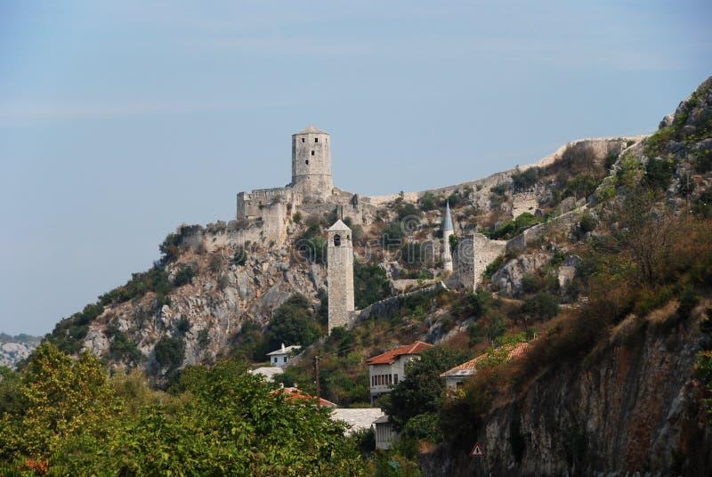 Citadel Pocitelj royalty free stock photos