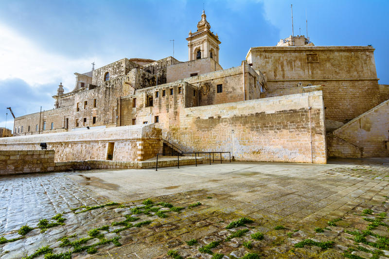 The Citadel, Victoria, Gozo, Malta. royalty free stock images