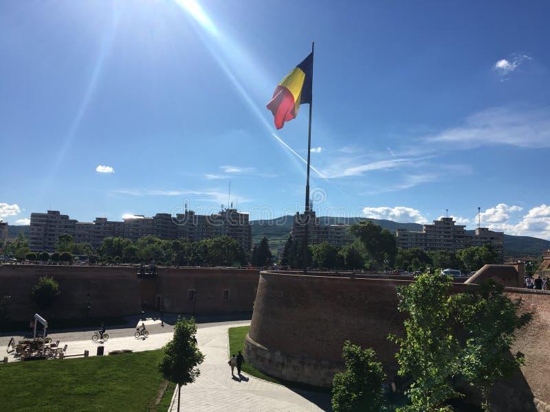 Citadela alba Romênia do iulia fotos de stock royalty free