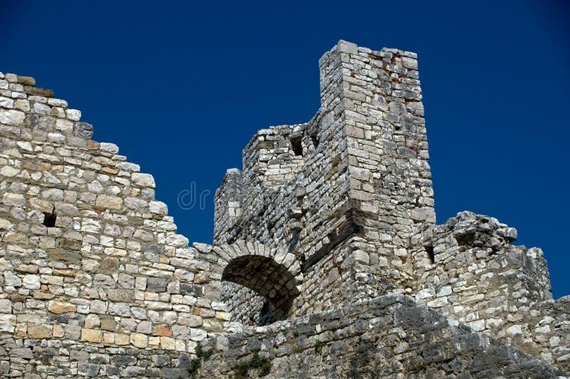 Citadela, Berati, Albânia fotografia de stock